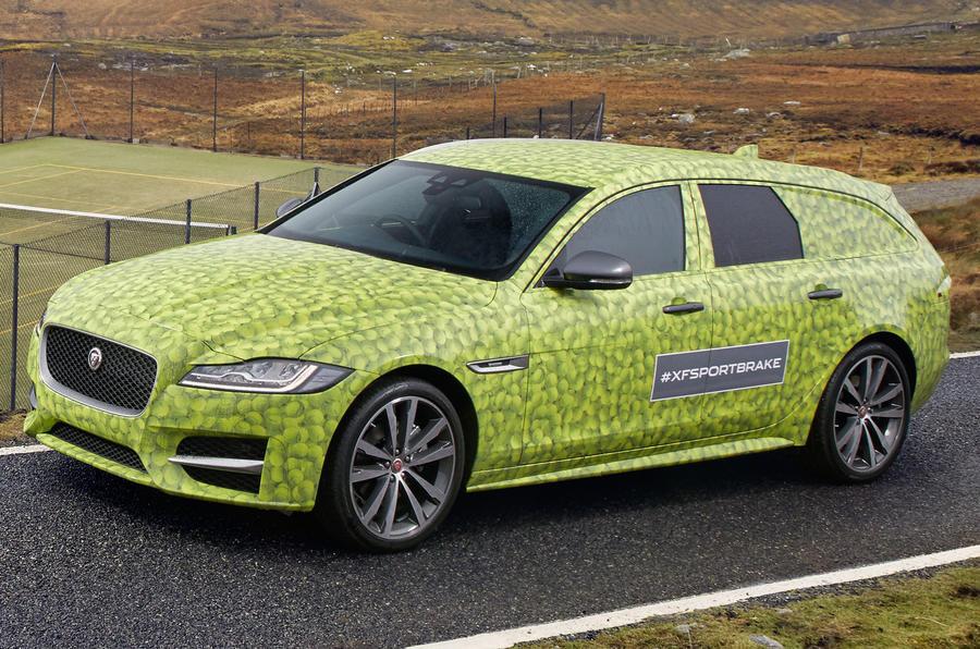 Презентация нового универсала Jaguar XFSportbrake пройдет 14июня