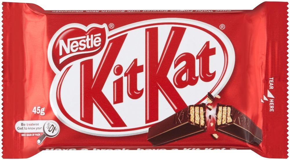 Форму батончиков KitKat непризнали торговой маркой в Великобритании