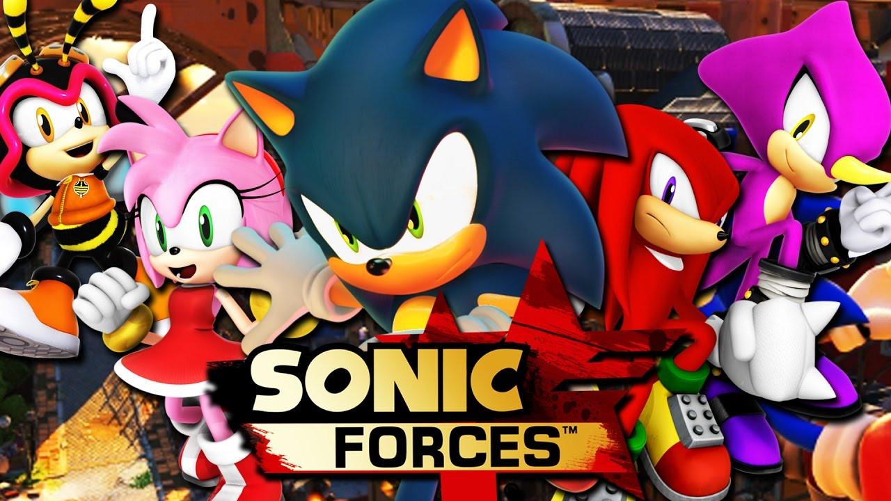 Вигре Sonic Forces появится редактор персонажей