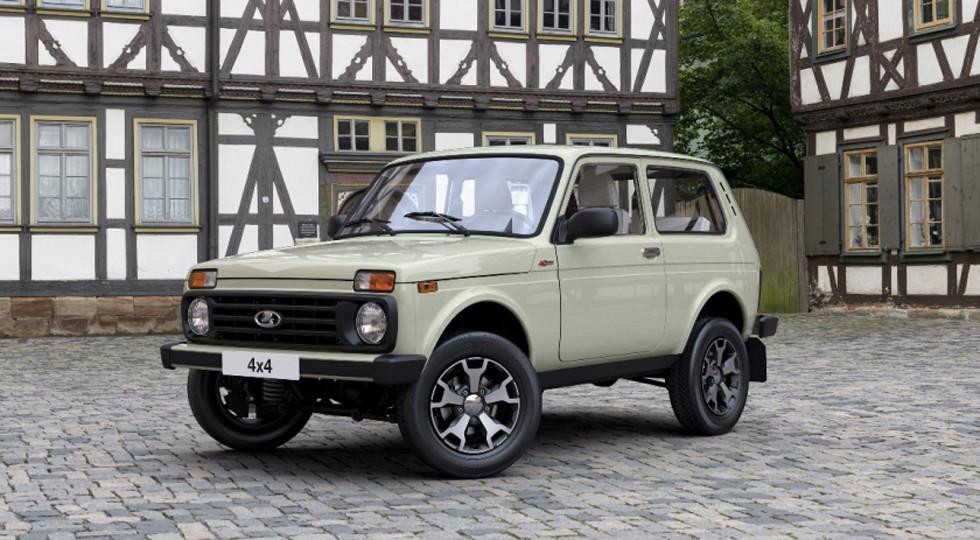 В Российской Федерации стартовали продажи юбилейной версии Лада 4x4