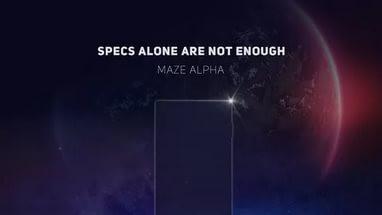 Бюджетный Maze Alpha станет главным конкурентом iPhone 8 и Samsung Galaxy S8