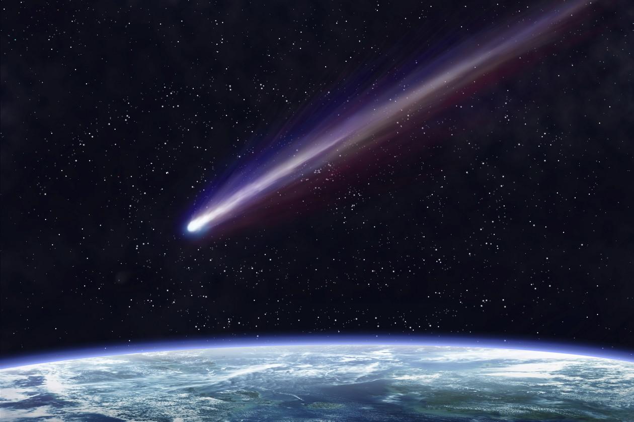 Часть атмосферы Земли могли принести кометы— ученые