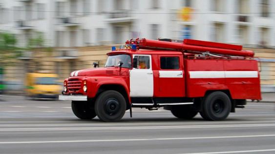 Вподмосковном Лыткарино наскладе произошел пожар