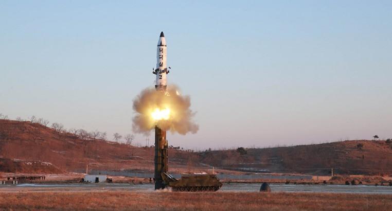КНДР вкоторый раз провела испытание ракеты