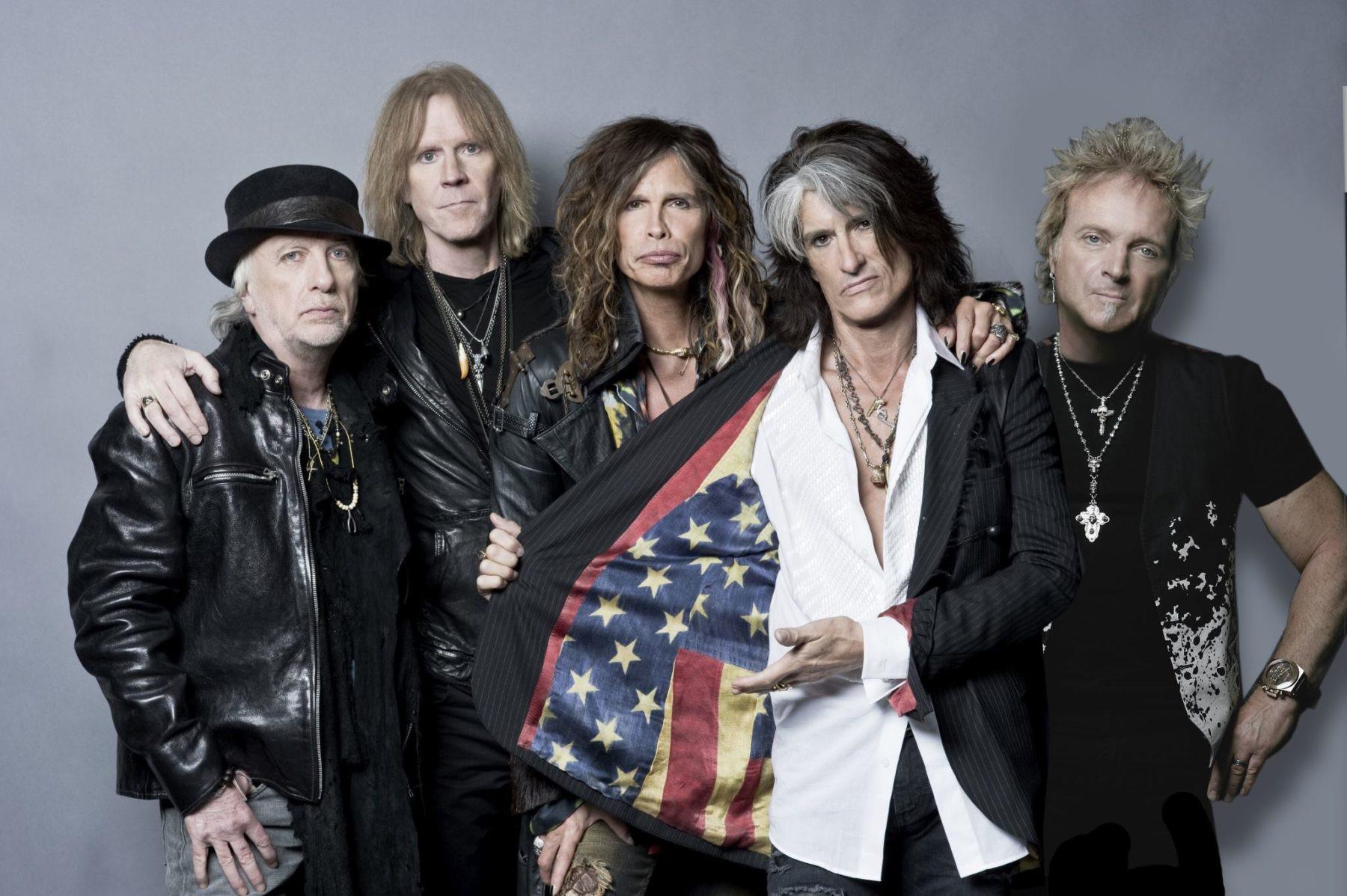 Рок-группа Aerosmith даст прощальный концерт в столицеРФ