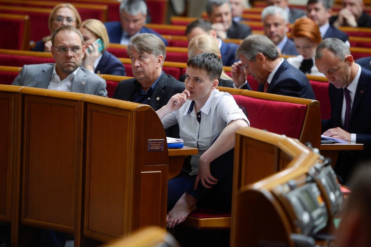 Савченко: ВВерховной раде Украины мужчин нет