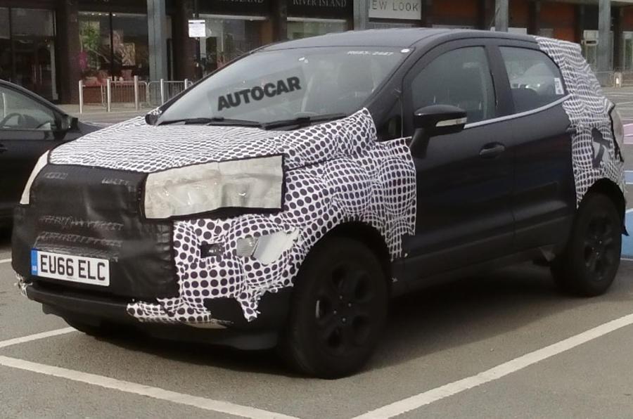 Улучшенный Форд EcoSport замечен натестах