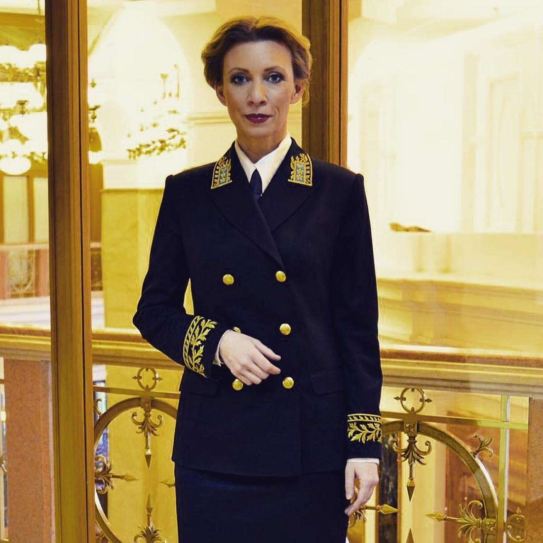 Захарова поведала овоссоединении Крыма сРоссией