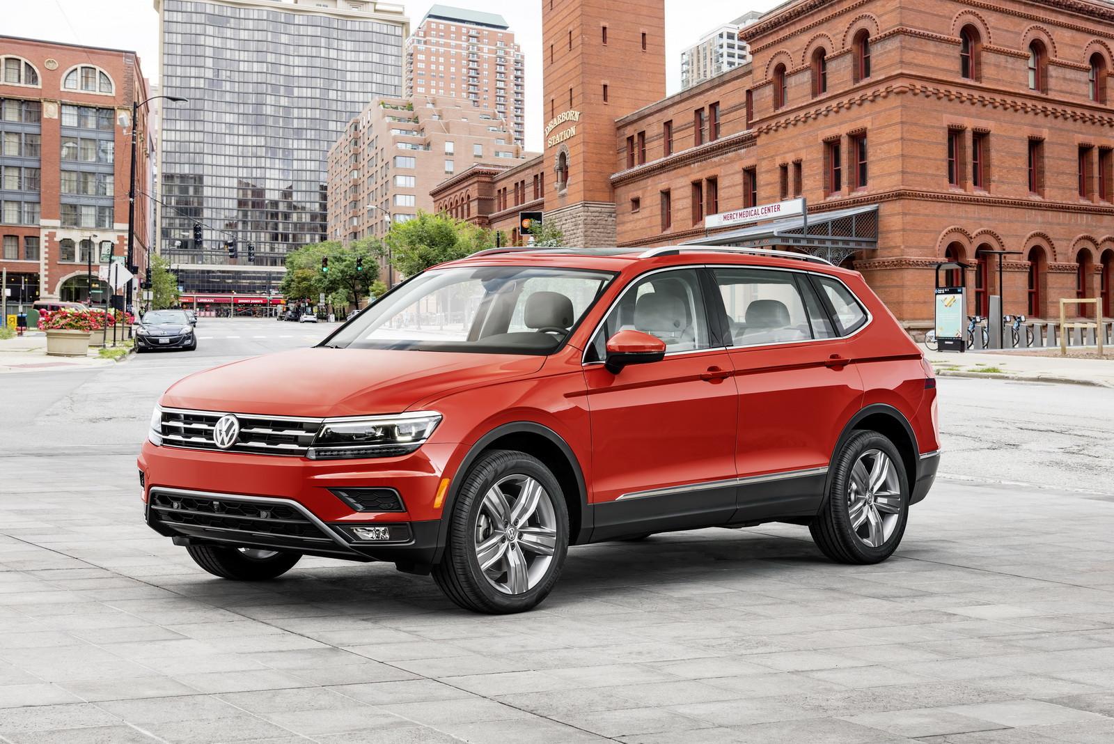 Кроссовер VW Tiguan получит новый 2,0-литровый мотор TSI