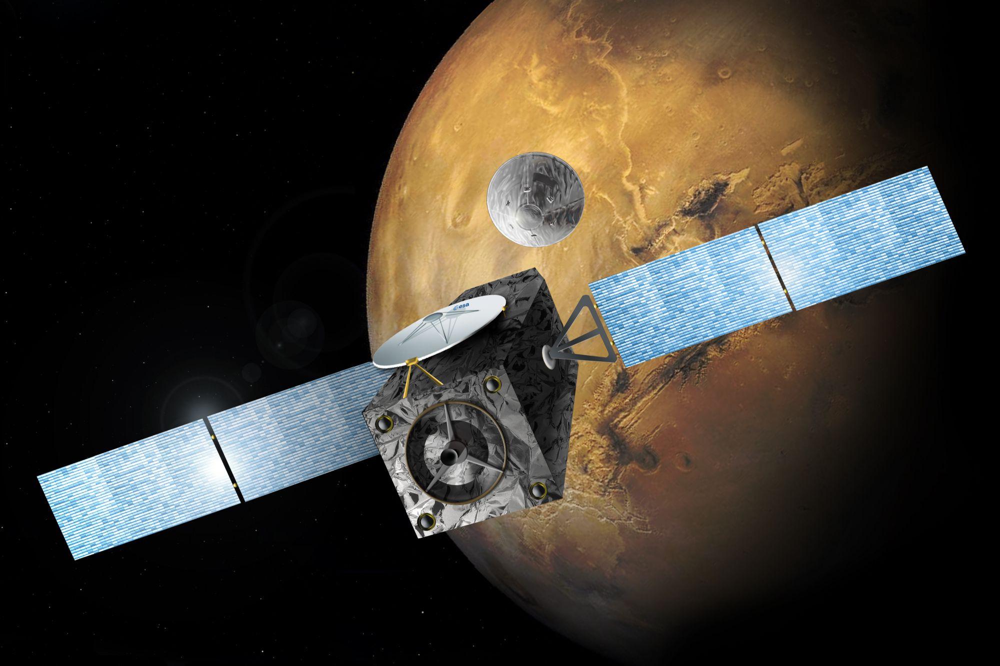 Специалисты EKA назвали точную причину падения модуля «Скиапарелли» наМарс