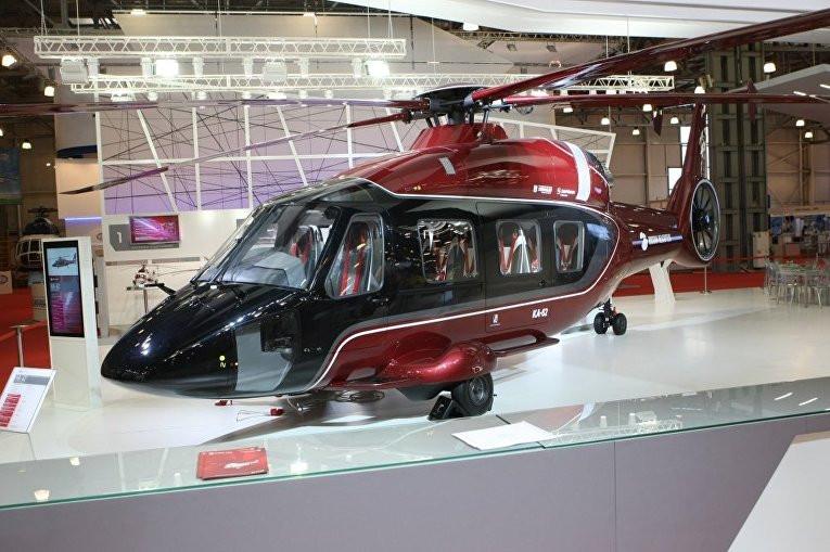 Рогозин обнародовал видео первого полета нового вертолета Ка-62