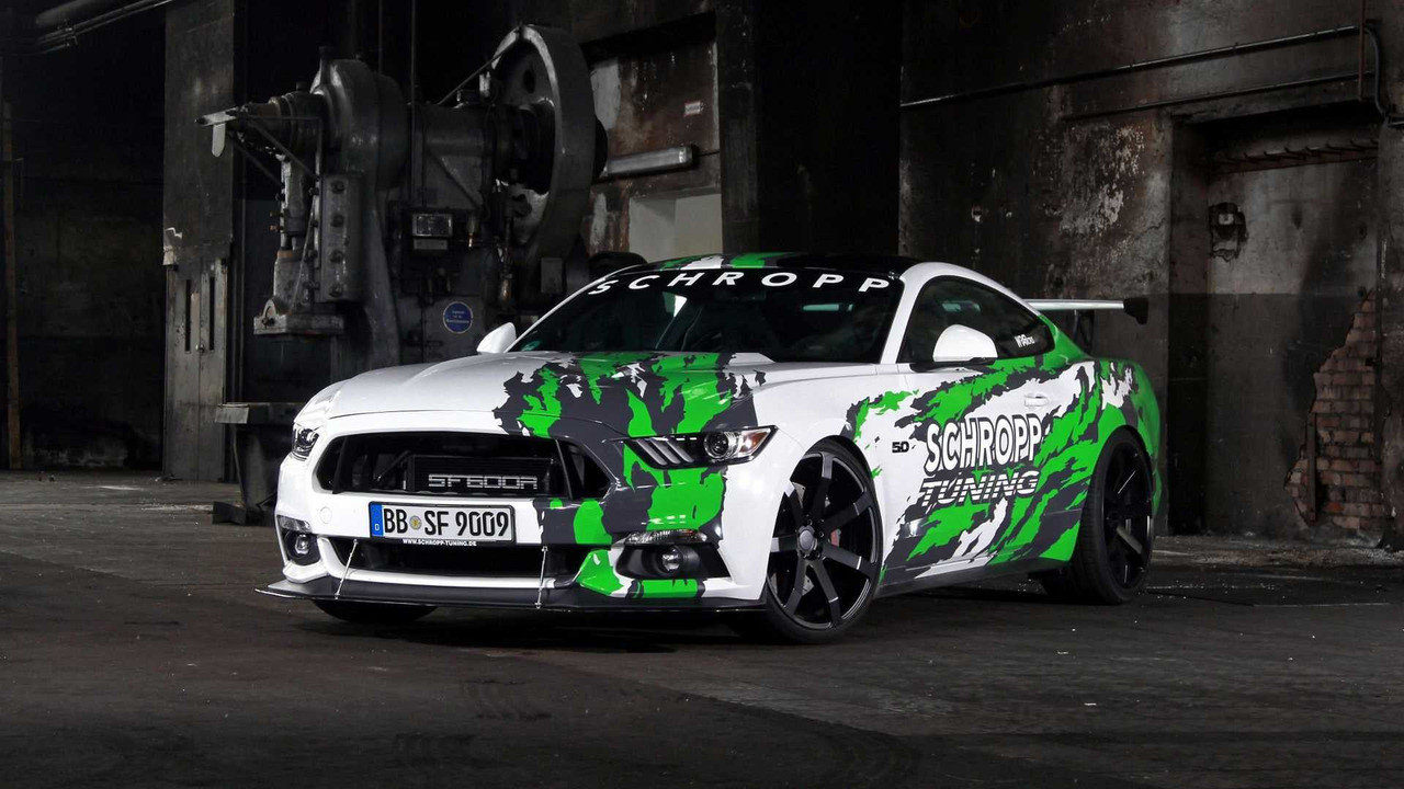 Тюнеры изГермании показали 807-сильный Форд Mustang