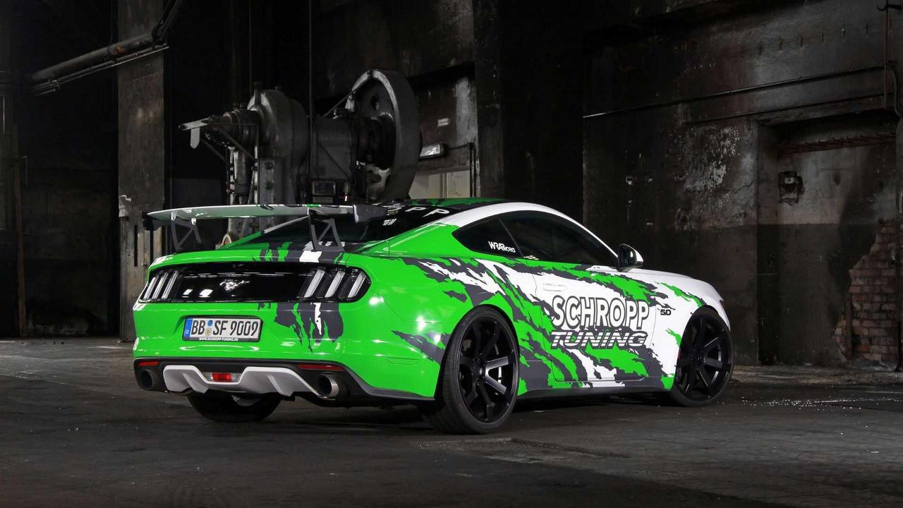 Форд Mustang стал наиболее популярным спортивным автомобилем вевропейских странах