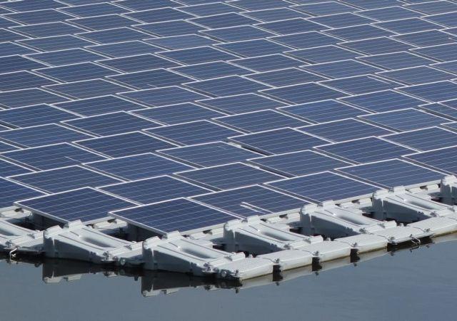 ВКитайской народной республике заработала крупнейшая вмире плавучая солнечная электростанция на40 мегаватт