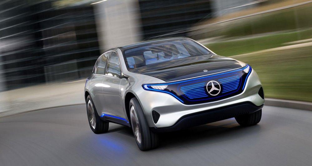 Benz презентует общедоступный электрокарEQ A в нынешнем 2017-ом