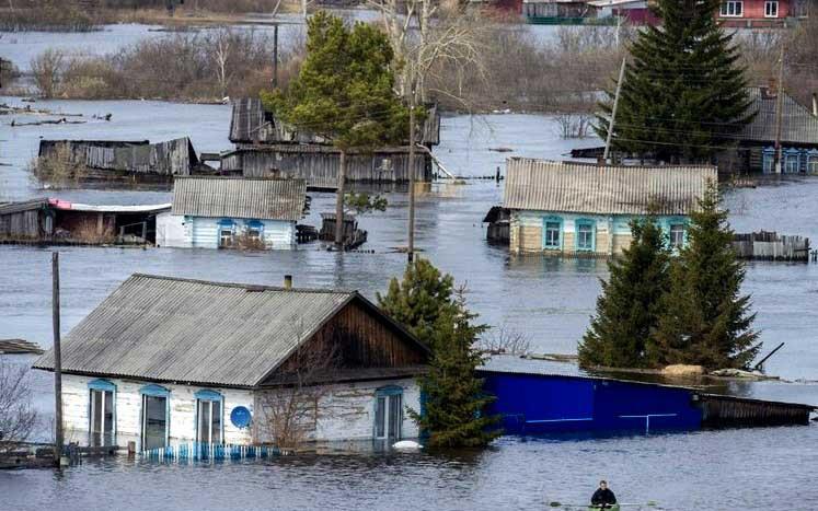 Паводок: число подтопленных домов вСтаврополье растет— сейчас 1,8 тысячи