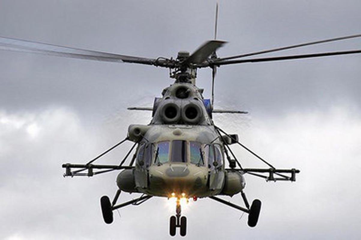 Вертолёт Ми-8 совершил жёсткую посадку вХабаровском крае