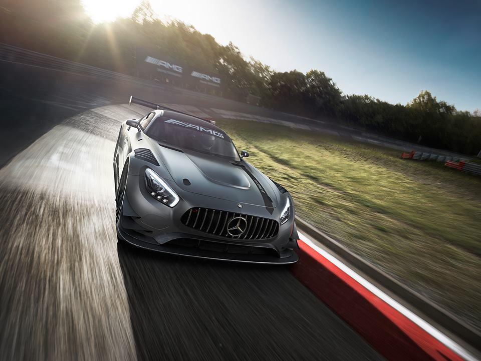 AMG презентовал гоночное купе GT3 Edition 50