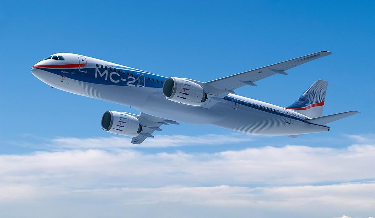 1-ый полет нового лайнера МС-21: взгляд изкабины пилотов