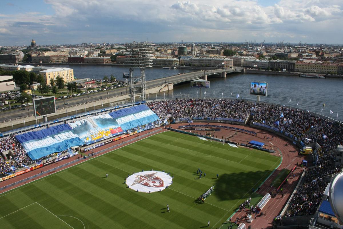 «Зенит» построит вПетербурге стадион на 20 тыс. мест