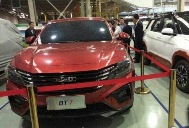 Рассекречен дизайн нового флагманского кросс-купе Bisu BT7