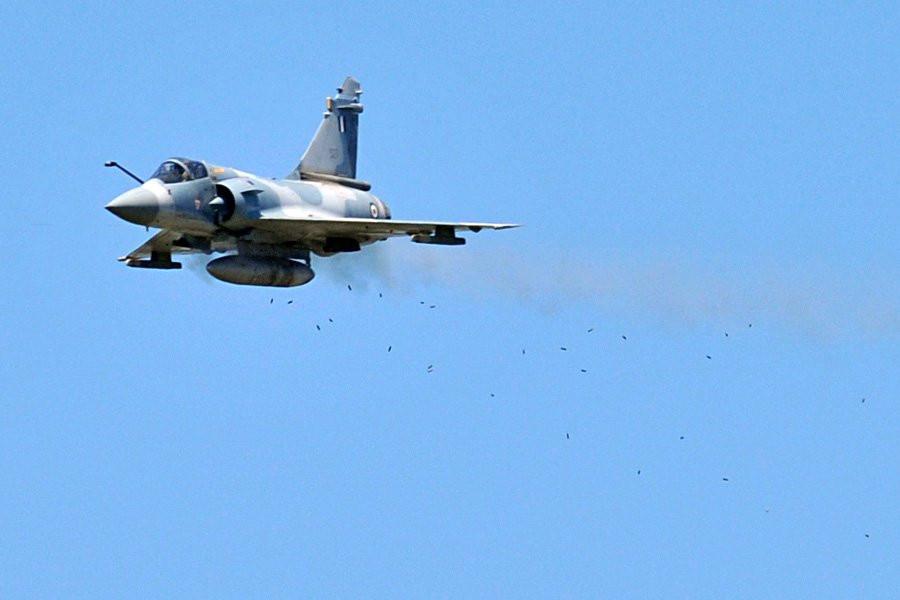 ВГреции из-за неисправности потерпел крушение истребитель ВВС