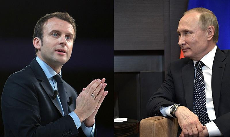 Путин иМакрон обсудили ситуацию сядерной проблемой наКорейском полуострове
