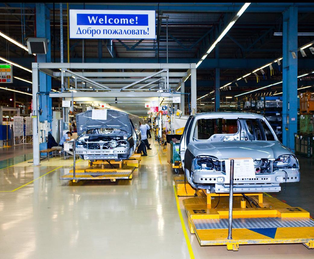 ВТольятти возобновлено производство джипа Шевроле Niva