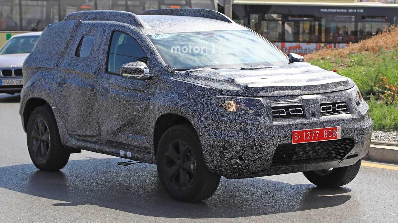 Обновленный Dacia Duster может получить семиместный салон