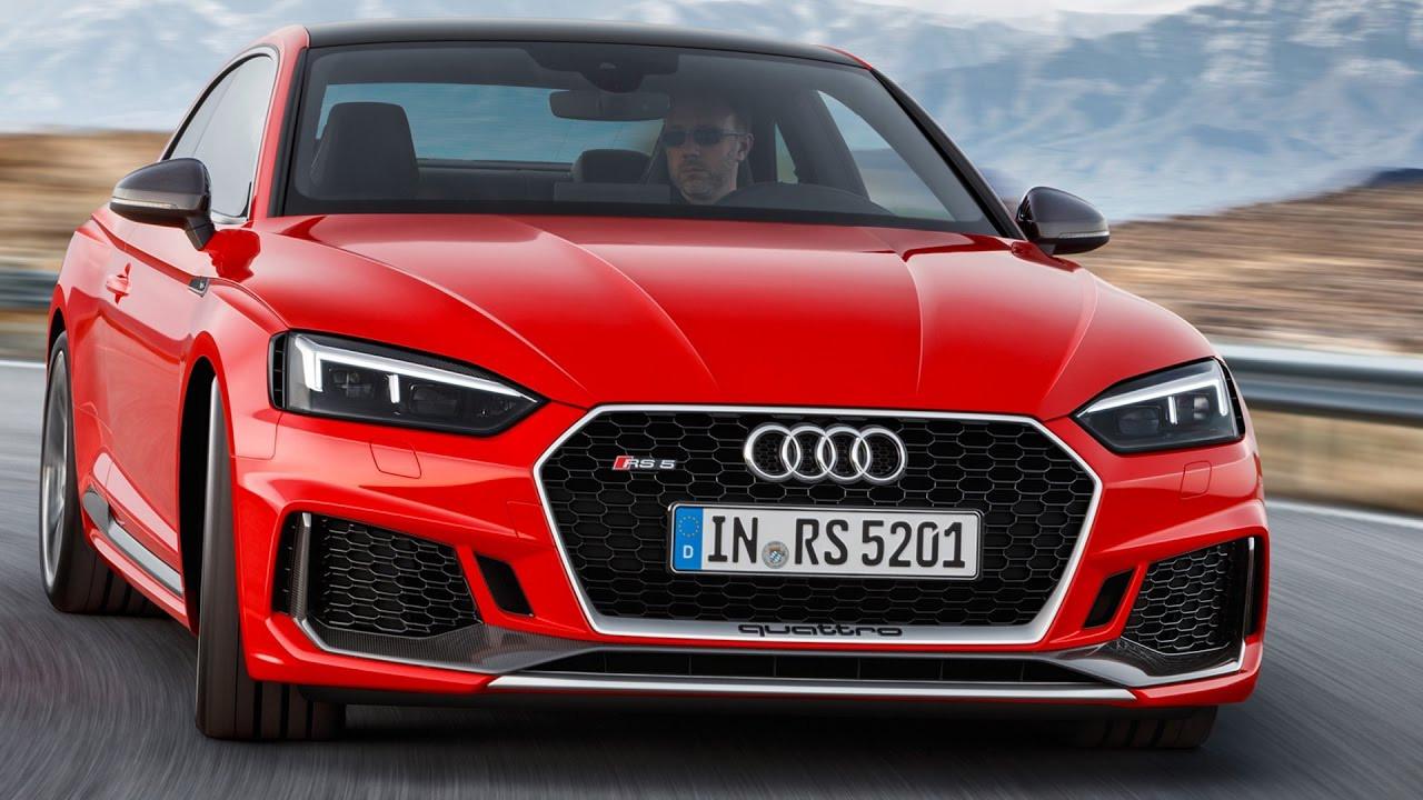 Объявлены русские цены накупе Ауди RS5 обновленного поколения