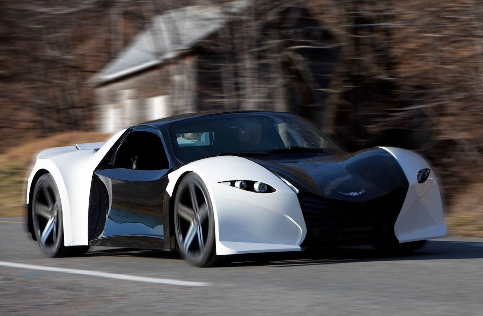 Компания Dubuc Motors в 2018 выпустит самый быстрый электрокар вмире