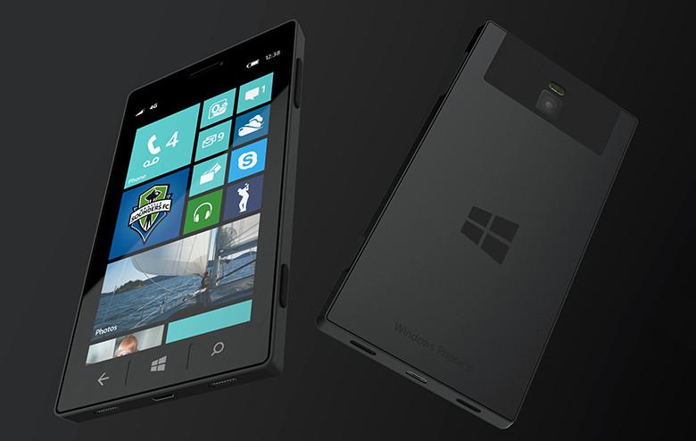 Microsoft тестирует новый телефон