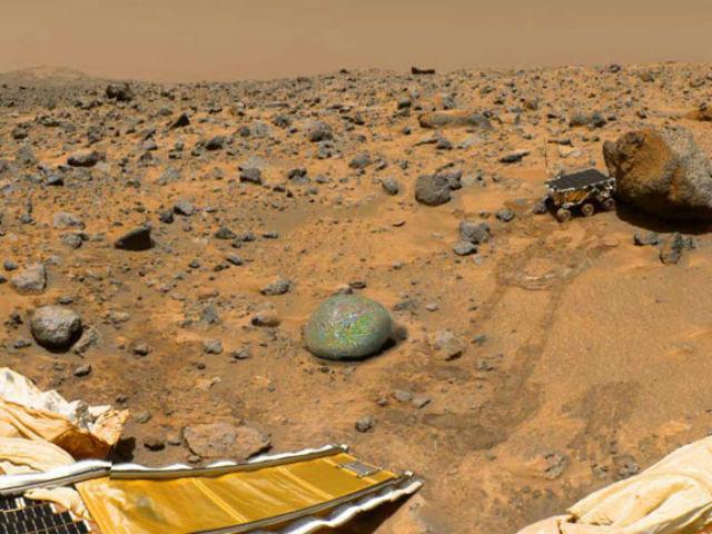 Ученые нашли наМарсе следы воды вкратере Гейла