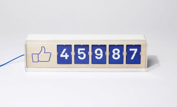 Представлен счетчик «лайков» для социальных сетей
