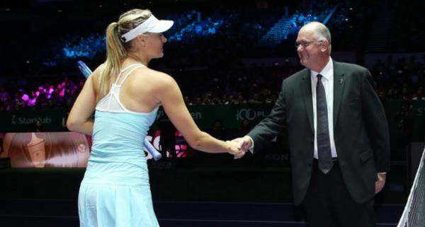 Президент WTA Саймон оценил игру Шараповой на турнире в Штутгарте