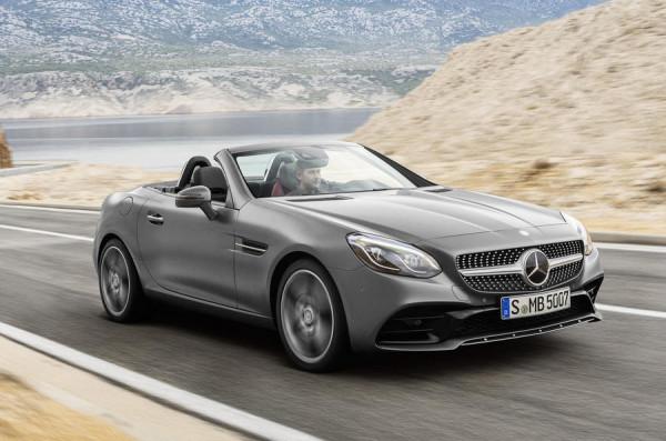 Новый родстер Mercedes-Benz SLC 180 получил британский ценник