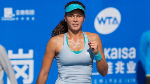 Российская теннисистка Вихлянцева разгромила Голубич на турнире в Праге