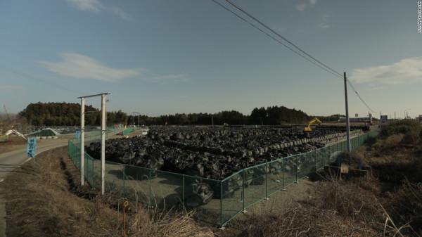 Лесной пожар в районе «Фукусима-1» усугубляется