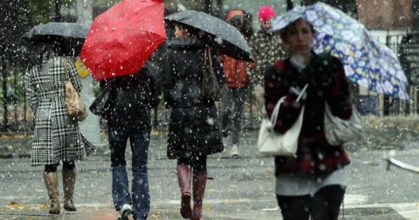 В Москве 11 мая пройдёт дождь с мокрым снегом