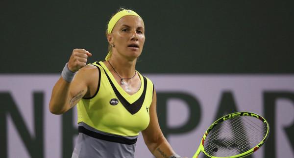 Россиянка Кузнецова попала в четвертьфинал теннисного турнира в Мадриде