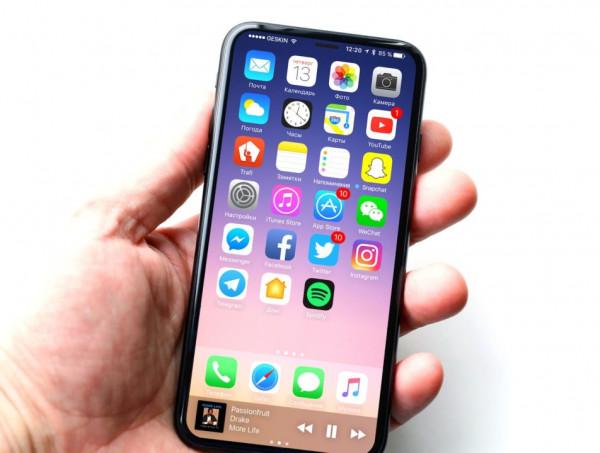 Стали известны особенности фронтальной камеры iPhone 8