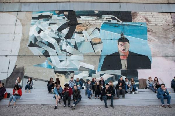 Ленин бьет рекорды по популярности в стрит-арт музее Санкт-Петербурга