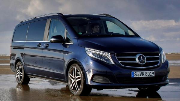 Озвучена стоимость обновленного Mercedes-Benz V-Class 2017