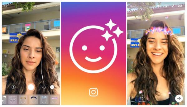 Instagram запускает собственные фильтры для селфи
