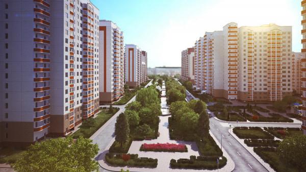 В Москве  за два года построят 96 домов