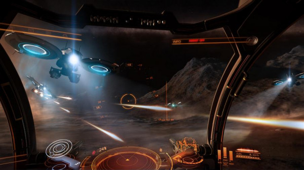 Elite: Dangerous запланировал выход на PS 4 27 июня
