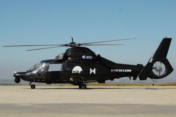 Боевой вертолет Z-19E «Черный торнадо» испытали в Китае