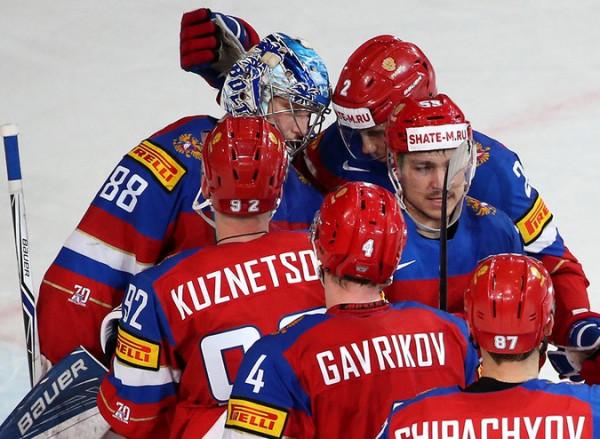 Россияне открыли счет в поединке с Финляндией на ЧМ мира по хоккею
