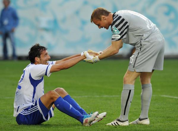 Бывшие игроки сборной РФ обыграли звёзд FIFA