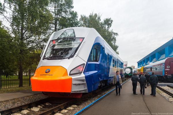 В Москве до конца 2017 года запустят электрички с кондиционерами и Wi-Fi